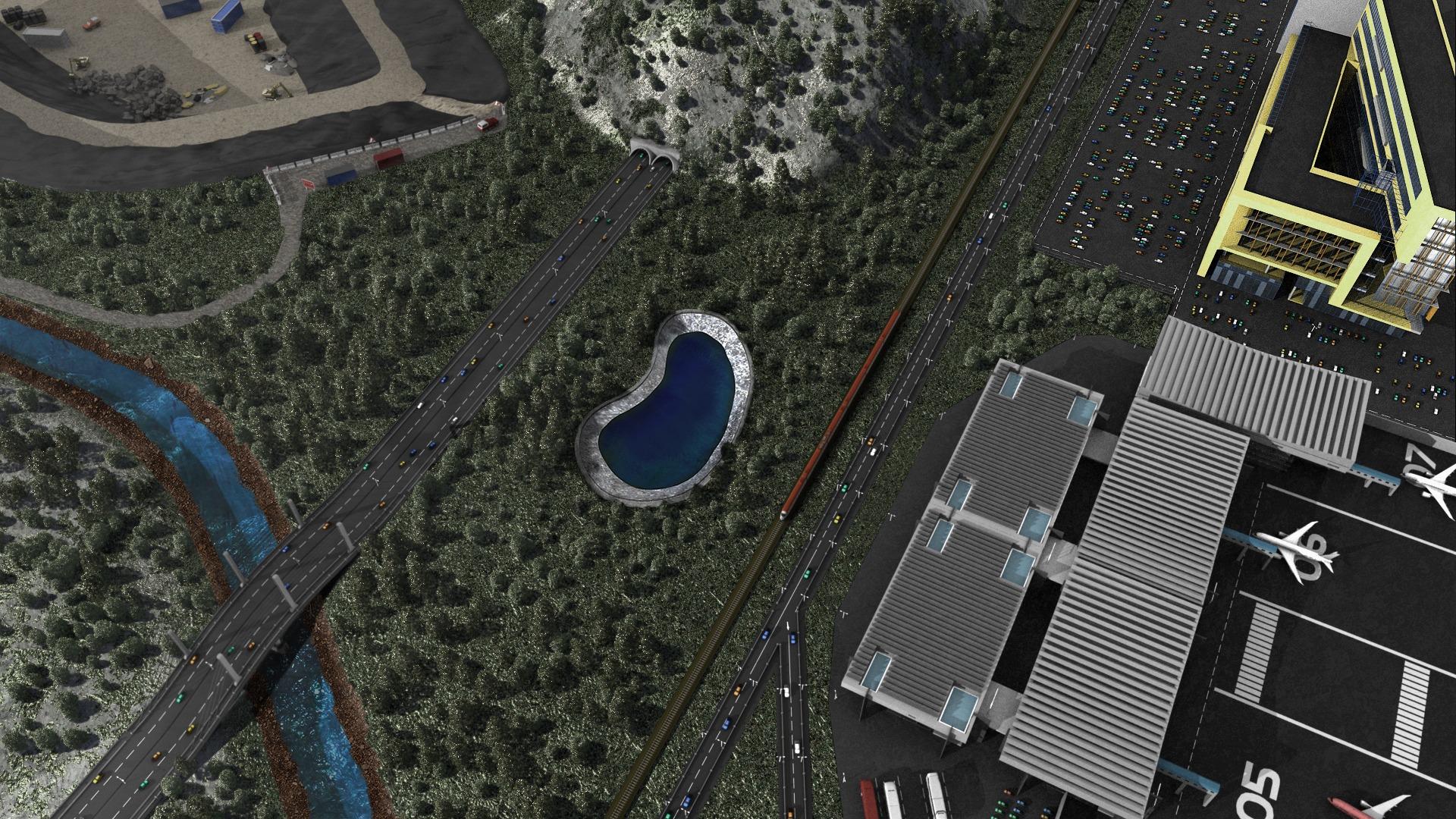 Geotex 2000 vista industriale