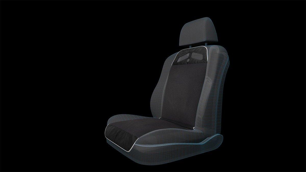 Med1994 sedile installato
