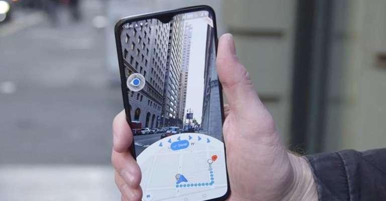 telefono con realtà aumentata