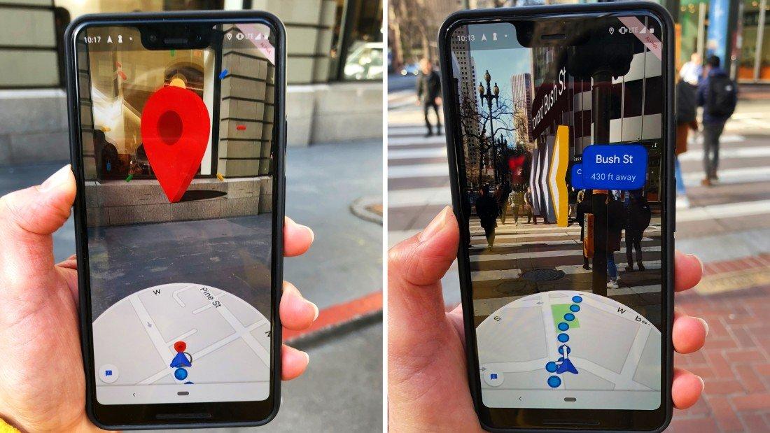 realtà aumentata su telefoni