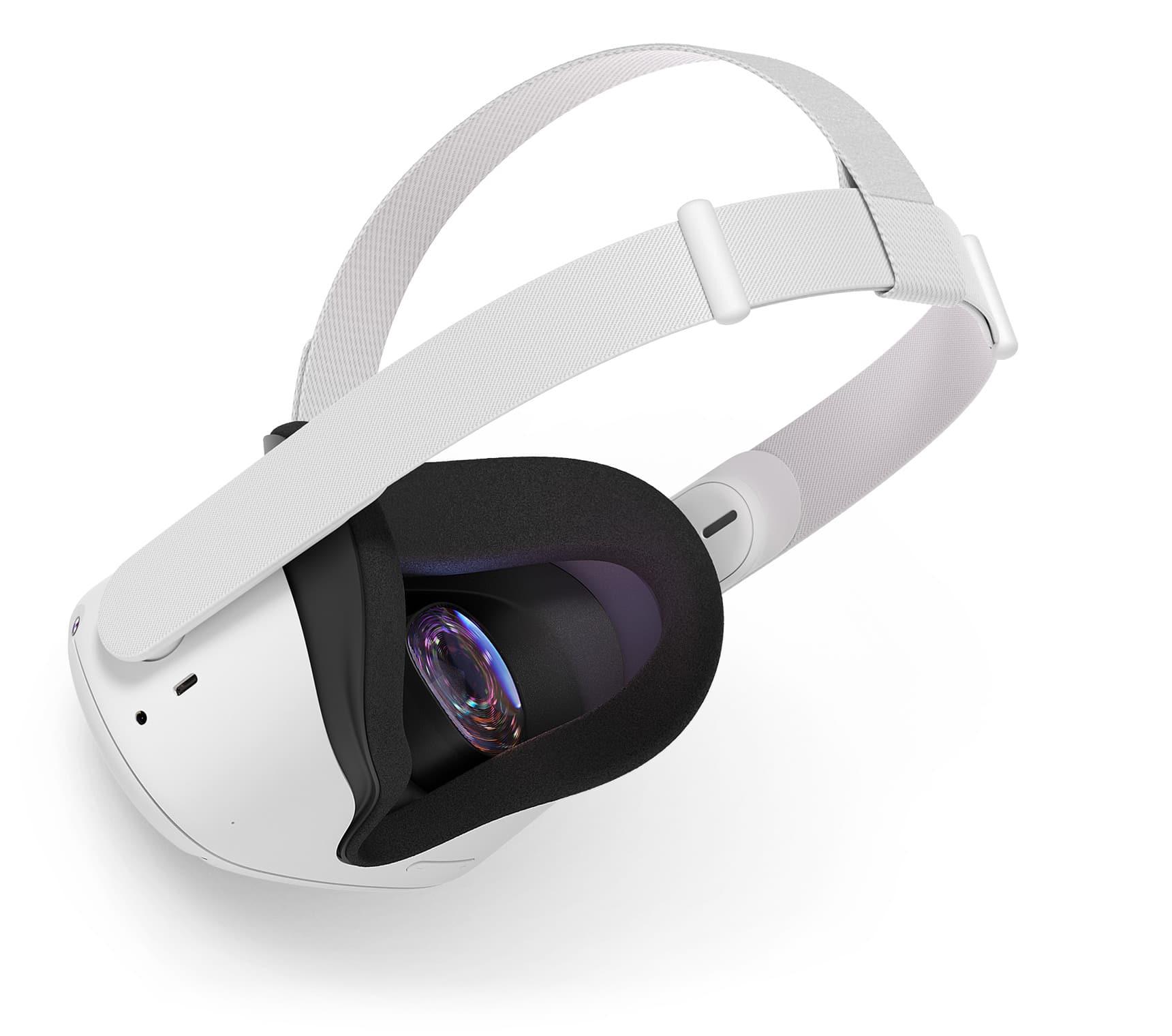 Visore realtà aumentata oculus quest senza fili