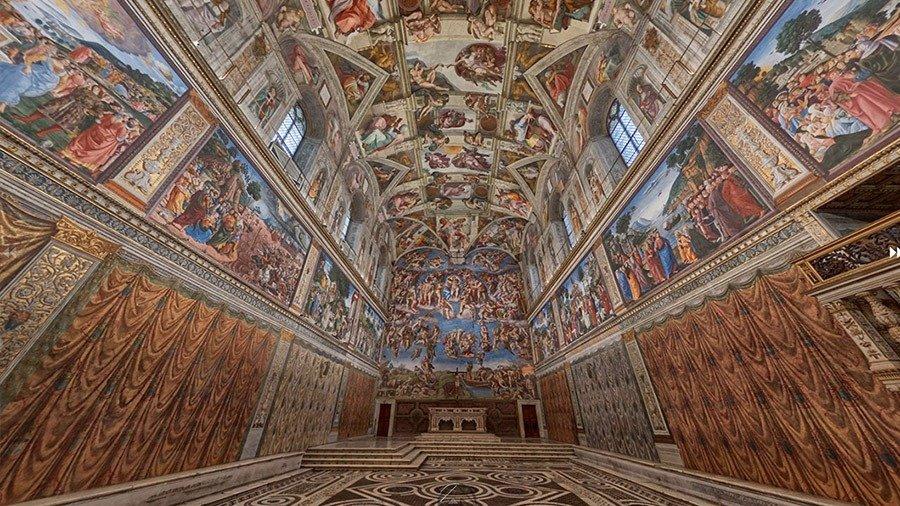 Esempio virtual tour musei virtuali