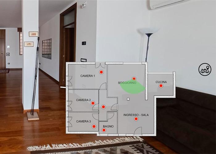 planimetria virtuale 2d