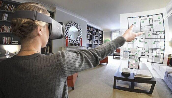 visore realtà virtuale per virtual tour