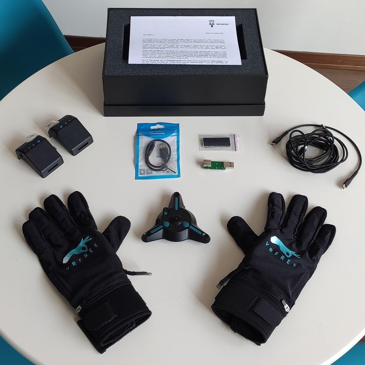 guanti realtà virtuale VRfee Gloves