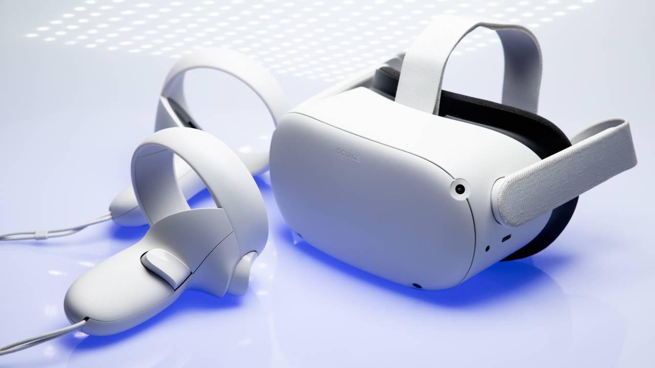 visore in realtà virtuale oculus quest 2