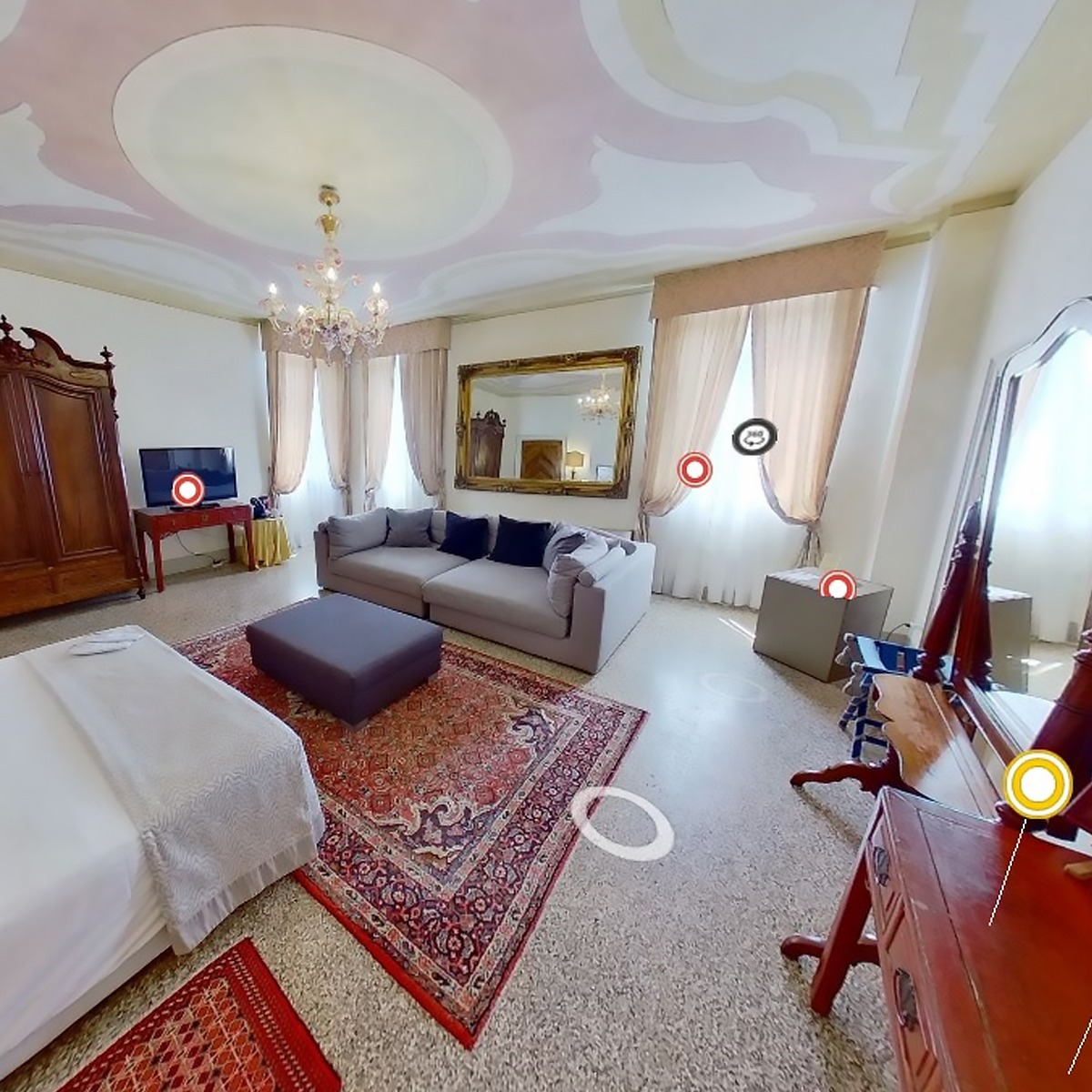 Virtual Tour Matterport per Hotel